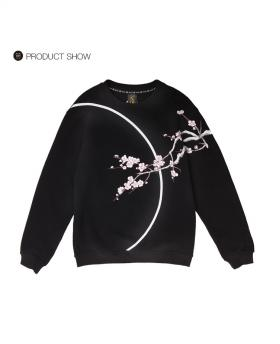 Ohcat Blooming Full Moon Sweats - Black