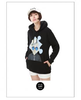 Ohcat Fashion Agent Cat Hoodies