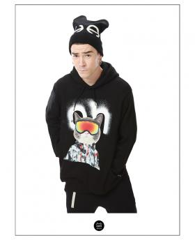Ohcat Fashion Snow Cat Hoodies