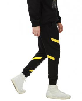 Ohcat Yellow and White Stripe Sweatpants