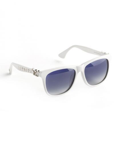 WiGi Atlantean White Frame with Silver Metal Castings Luxury Glasses